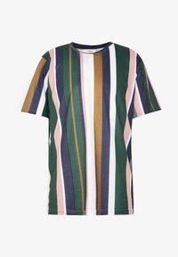 Redefined Rebel - UNISEX LION TEE - Triko s potiskem - duck green - 4