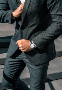 Daniel Wellington - ICONIC LINK 40MM - Horloge - silver - 0