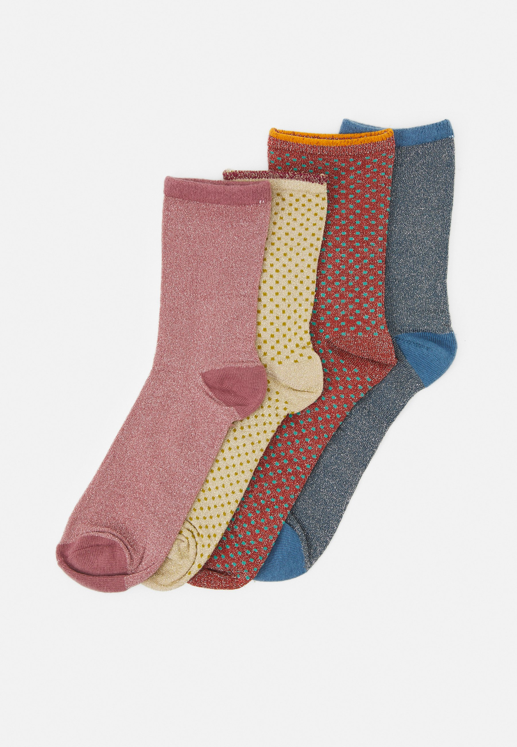 Women DINA SOLID 4 PACK - Socks