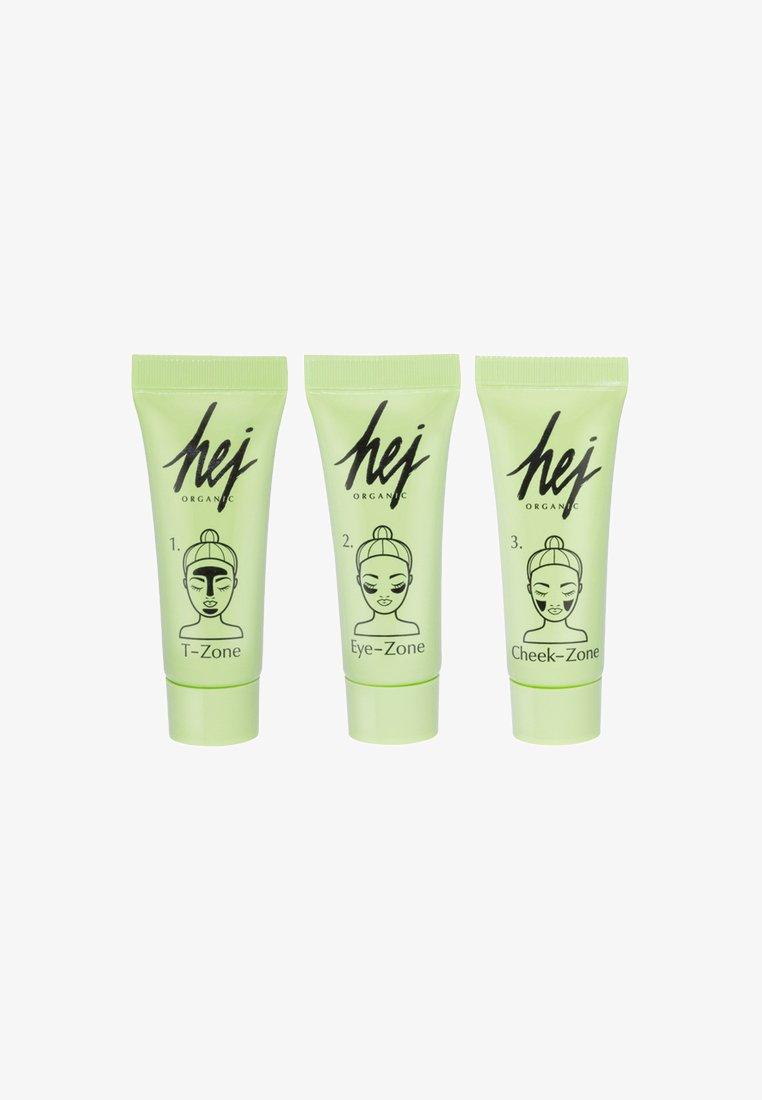 Hej Organic - Cactus Multi Masks 3 Pack - Hudplejesæt - neutral