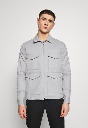 CHAR SMART POCKET  - Summer jacket - charcoal