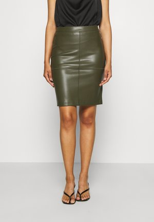VIPEN NEW SKIRT - Pencil skirt - forest night