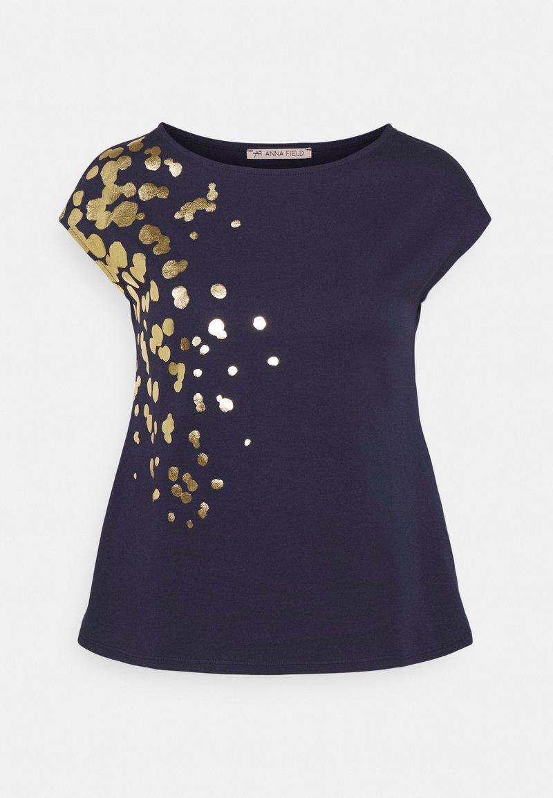 Anna Field - Print T-shirt - dark blue