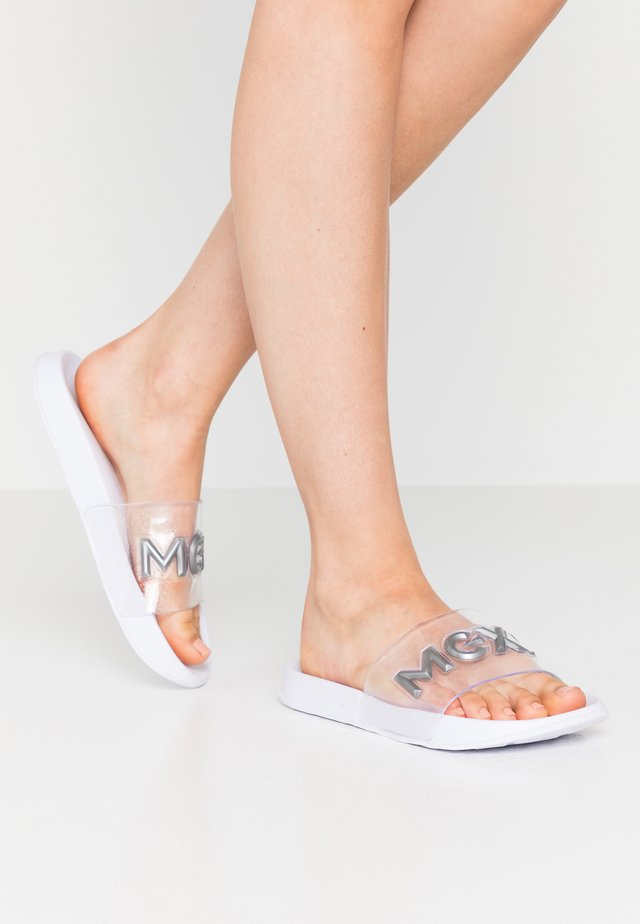ELICIA - Badslippers - white
