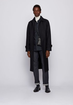 GIBOR - Classic coat - dark blue
