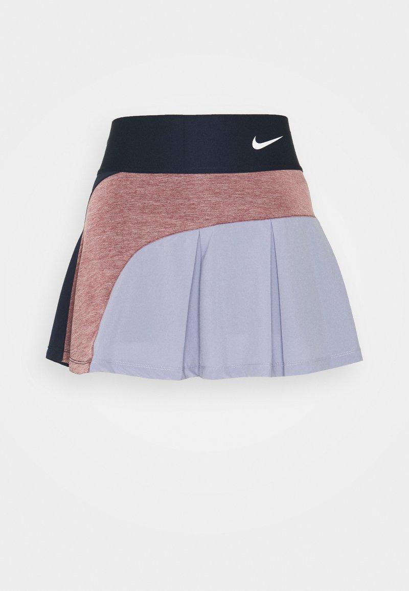 Nike Performance - SKIRT HYBRID - Sports skirt - obsidian/dark beetroot/indigo haze/white