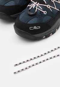 CMP - KIDS RIGEL LOW SHOE WP UNISEX - Hiking shoes - asphalt/rose - 5