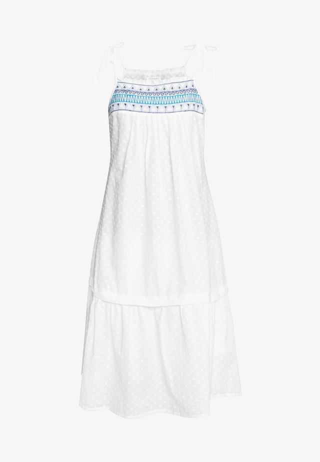 ISABETTA DRESS - Day dress - white