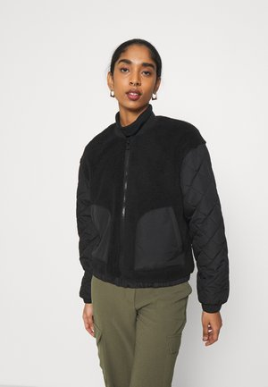 ONLGILES JACKET  - Bomber bunda - black