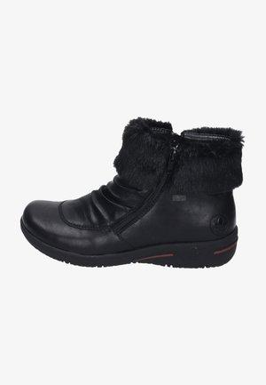 Winter boots - schwarz/schwarz