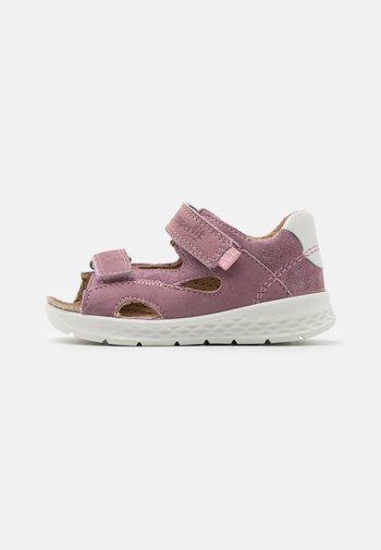 LAGOON - Sandals - lila/rosa