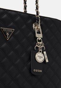 Guess - CESSILY TOTE - Handbag - black - 3