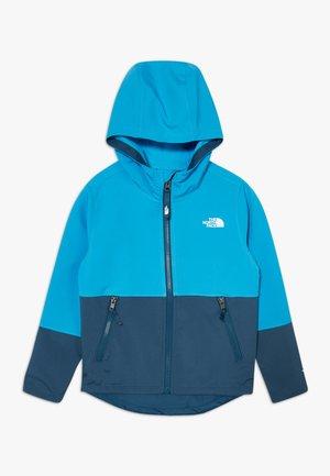 BOY'S - Softshellová bunda - clear lake blue