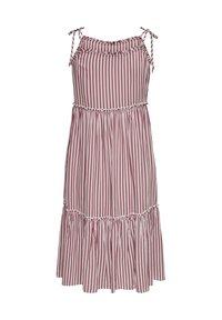 ONLY - Day dress - cloud dancer w stripes - 1