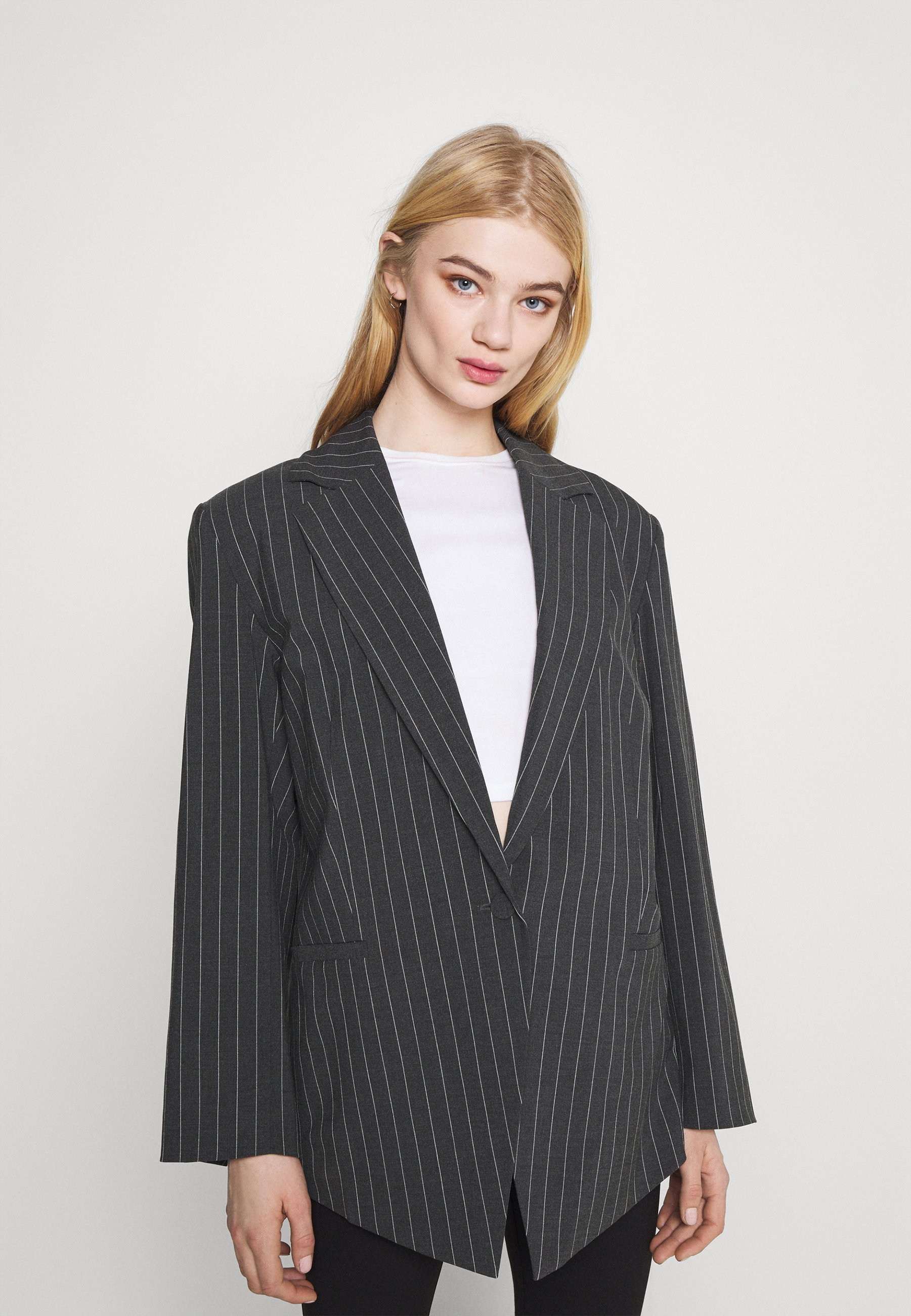 Women MARLIN OVERSIZED - Short coat - grey