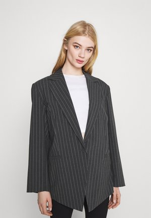 MARLIN OVERSIZED - Pitkä takki - grey