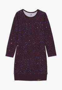 Walkiddy - Jersey dress - bordeaux - 0