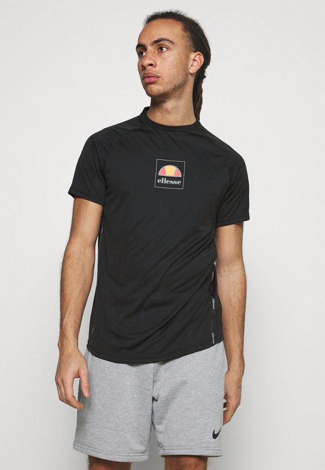 TOLI - Funkční triko - black