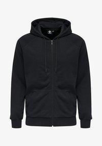 Hummel - HMLISAM  - Zip-up sweatshirt - black - 3