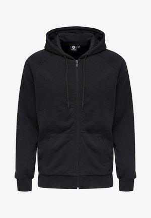 HMLISAM  - Sweat à capuche zippé - black