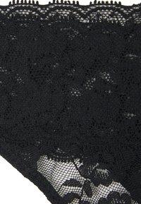 Lindex - LACEY 3 PACK - Underbukse - black - 3