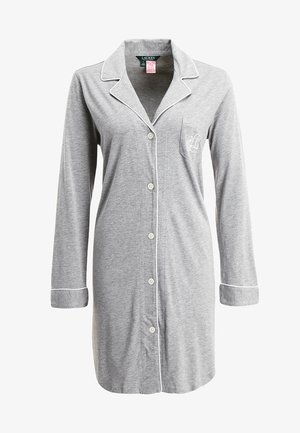 HAMMOND CLASSIC NOTCH COLLAR SLEEPSHIRT - Camisón - heather grey