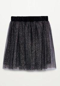 Mango - ESES - A-line skirt - svart - 1