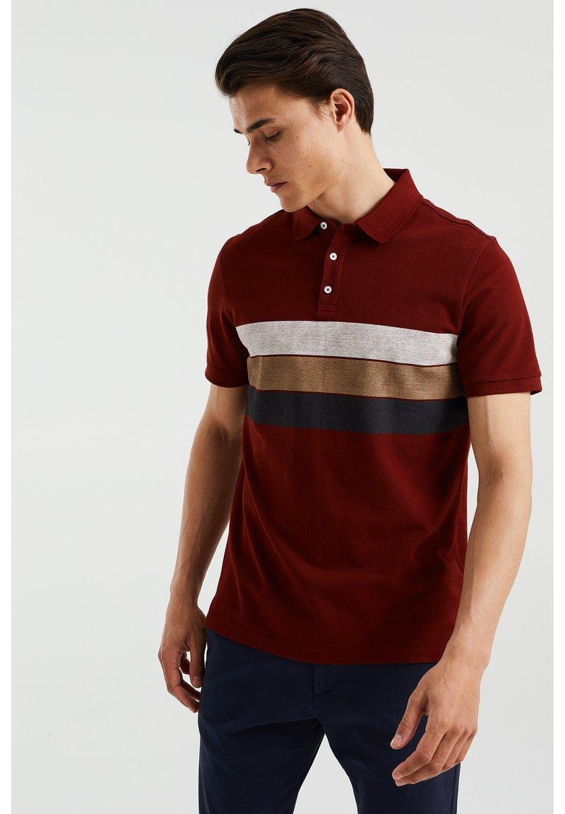 WE Fashion - Polo shirt - burgundy red