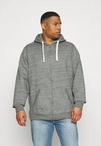 Blend - NORTH - Zip-up hoodie - pewter mix - 0