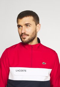 Lacoste Sport - TRACKSUIT - Tracksuit - ruby/navy blue/white - 5