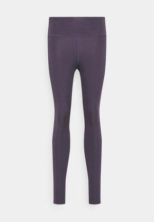 EPIC FAST - Leggings - dark raisin/silver