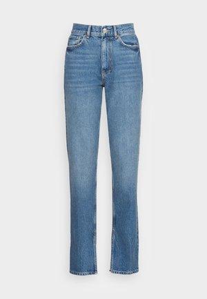 ORIGINAL SLIT - Straight leg jeans - blue