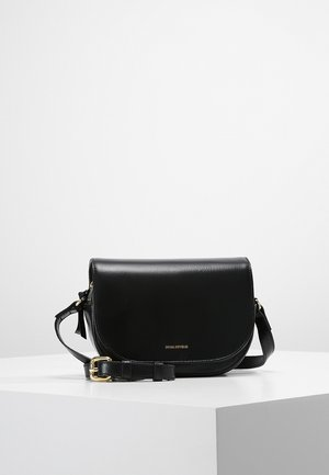 RAF CURVE EVENING BAG - Olkalaukku - black