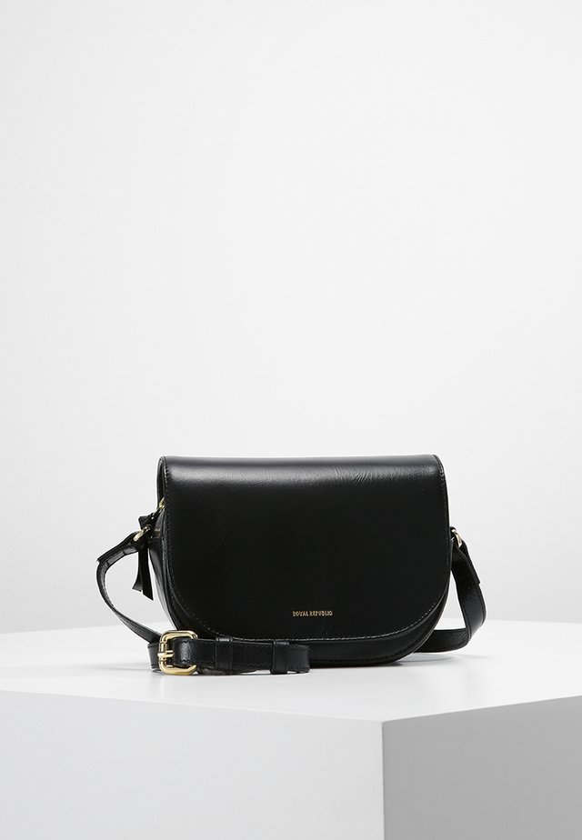 RAF CURVE EVENING BAG - Umhängetasche - black