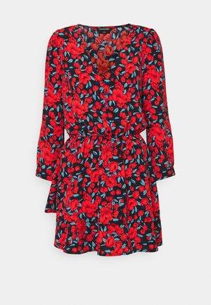 IVY ROSES LAYER MINI DRESS WOMEN - Jurk - bright red