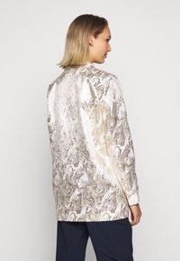 Bruuns Bazaar - LUNAS JACKET - Short coat - white/gold - 2