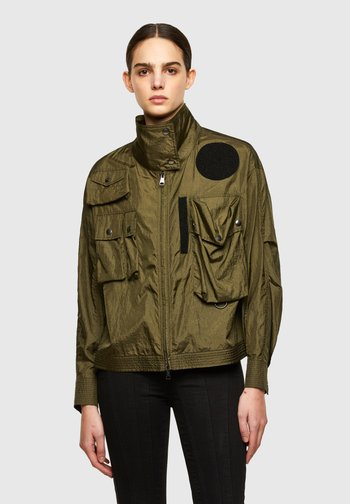 C-CORAL - Summer jacket - military green