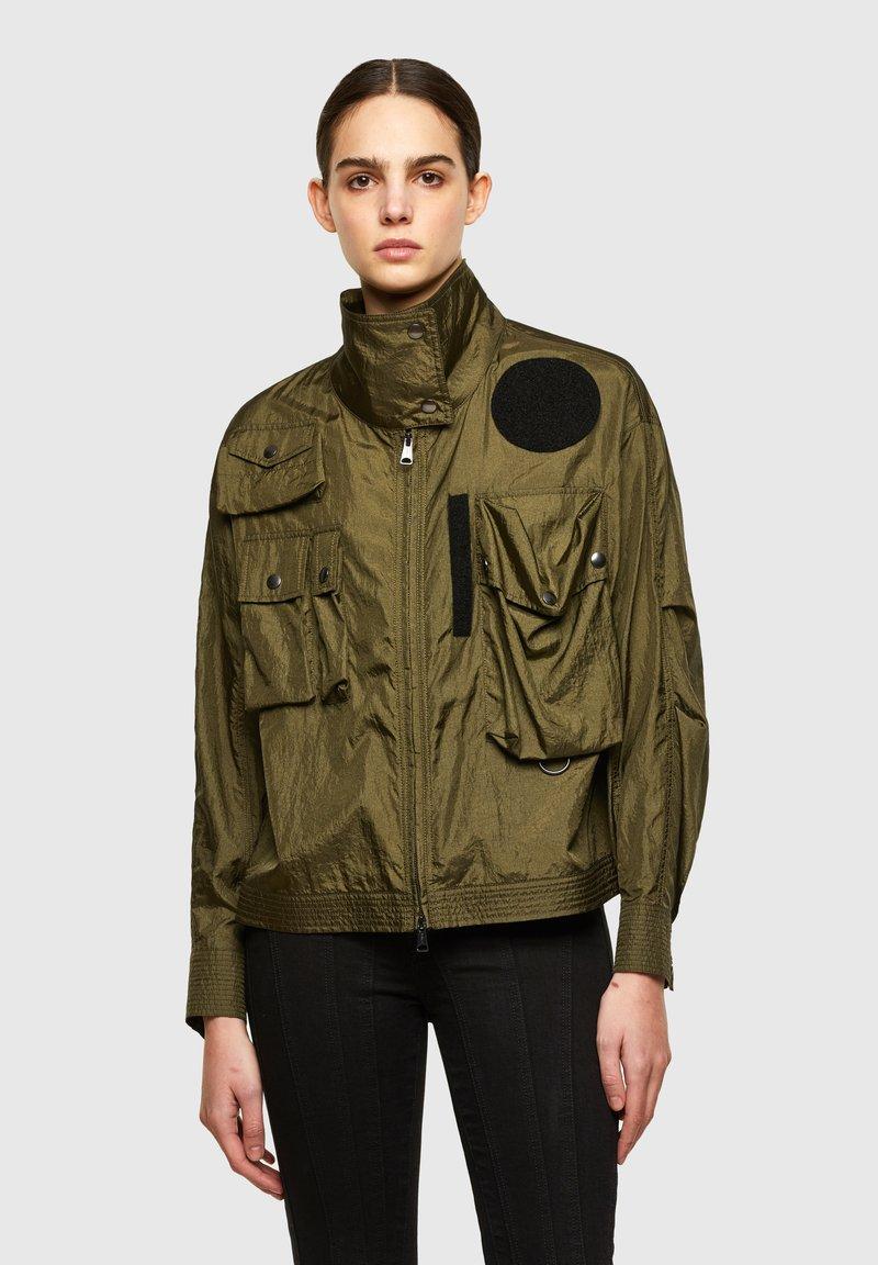 Diesel - C-CORAL - Summer jacket - military green