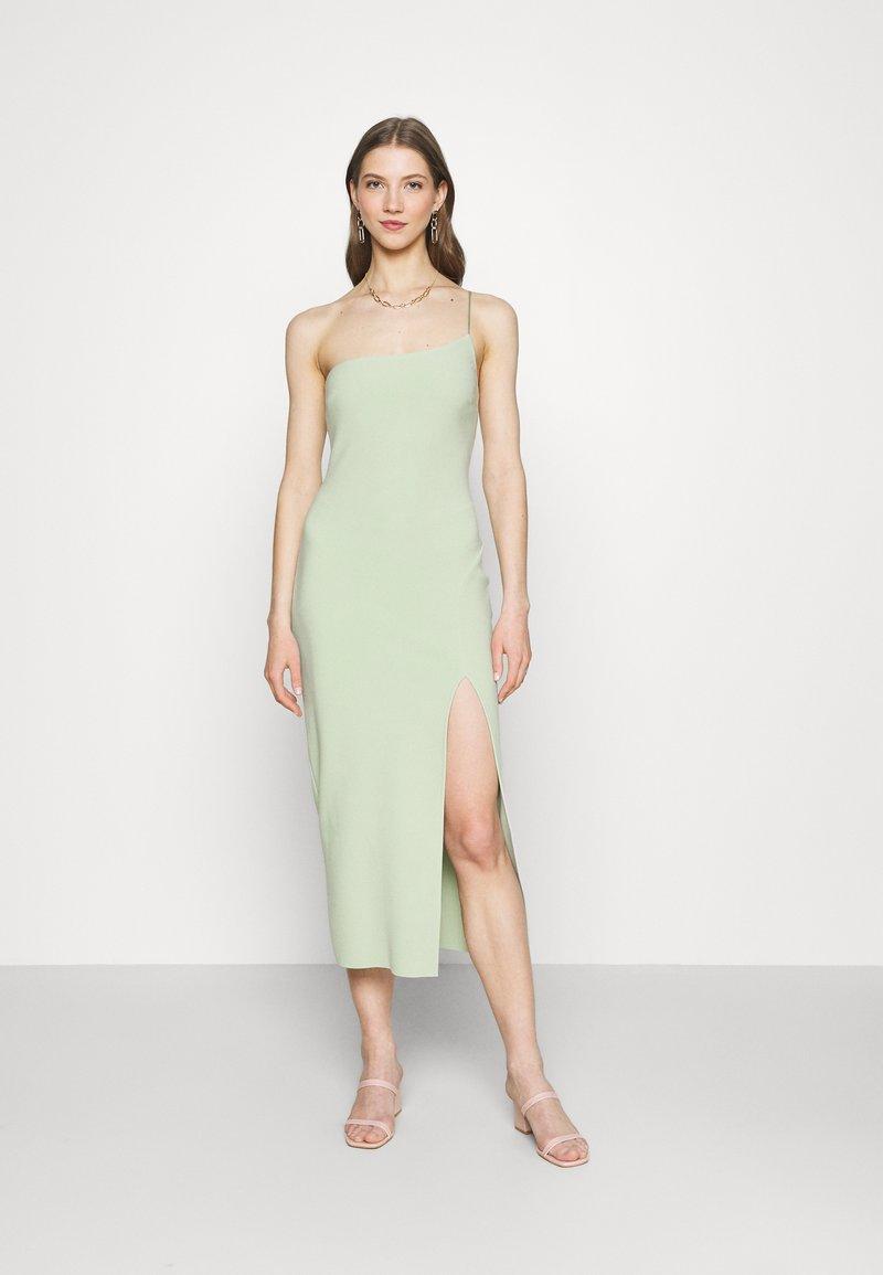 Bec & Bridge - FLEUR ASYM MIDI DRESS - Shift dress - avocado
