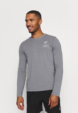 FUJI TRAIL TEA - Long sleeved top - graphite grey