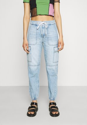 JOGGER - Relaxed fit jeans - ice blue