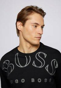 BOSS - TALBO - Print T-shirt - black - 3