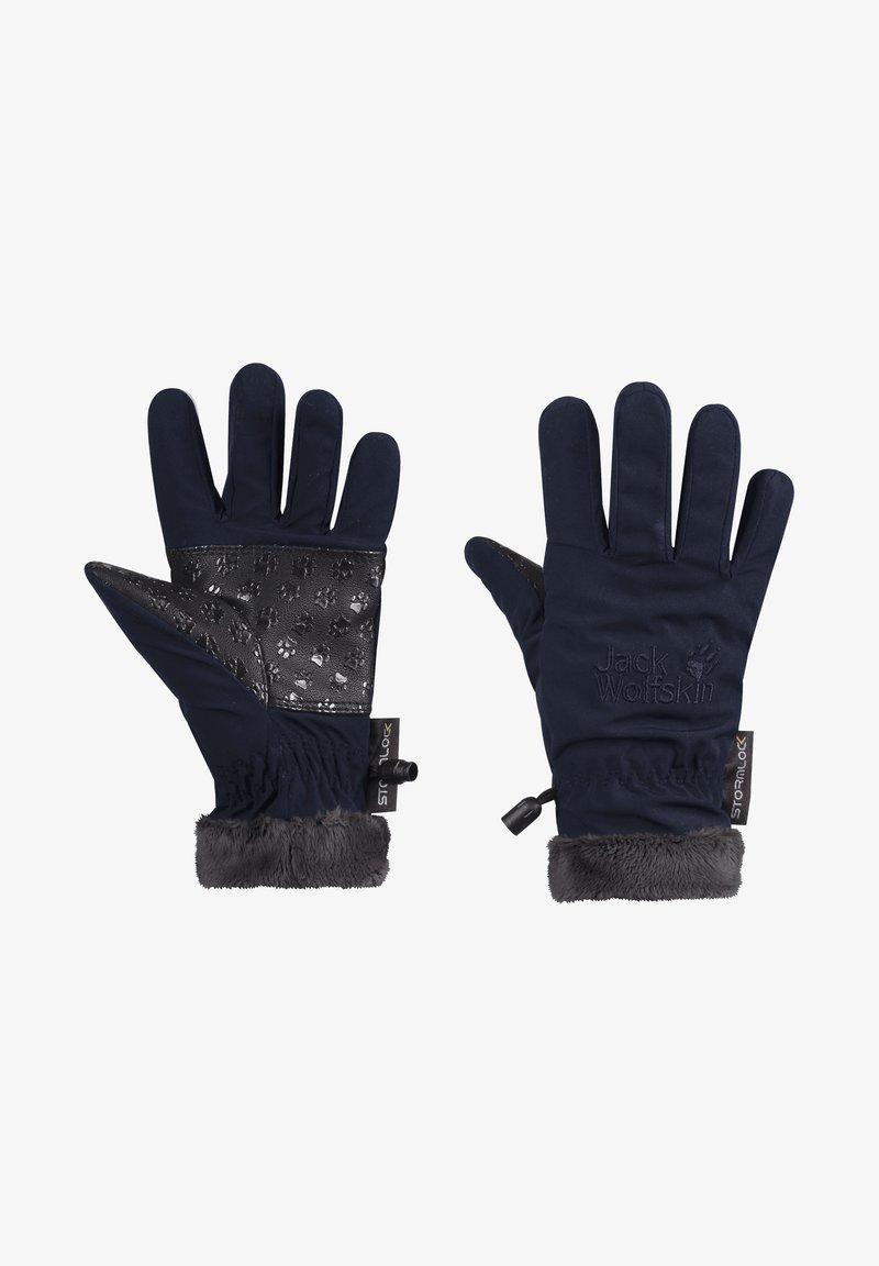 Jack Wolfskin - HIGHLOFT - Gloves - midnight blue