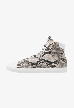 BASE - High-top trainers - grey/bianco