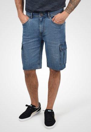 JACKO - Denim shorts - denim lightblue