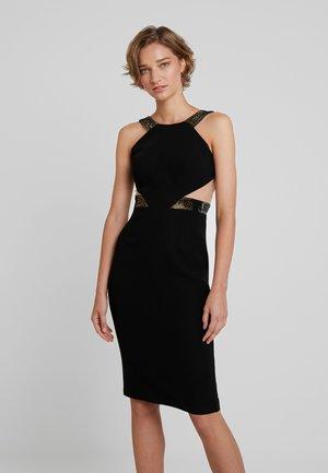 CATRINA - Sukienka koktajlowa - black/gold