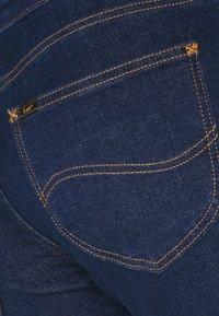 Lee - SCARLETT CROPPED - Jeans Skinny Fit - dark clement - 5