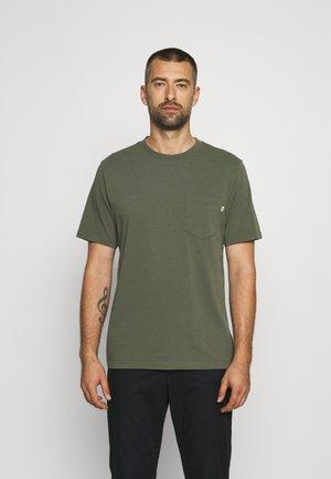 BOBBY POCKET - T-shirt basique - olive
