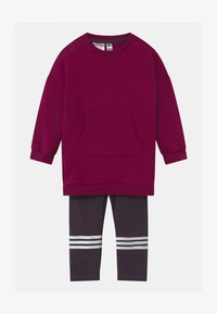 adidas Performance - FAVOURITES SET UNISEX - Tuta - berry/white - 0