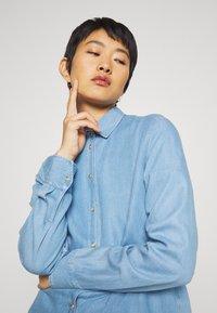 Mos Mosh - MARTINA - Button-down blouse - light blue - 4
